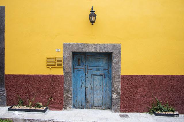 Puertas coloridas de San Miguel de Allende Guanajuato