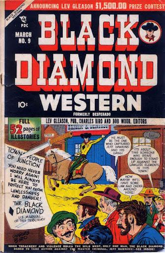 Black Diamond Western  #09 – #60  [1949 – 1956] Complete Series - Lev Gleason Publ.