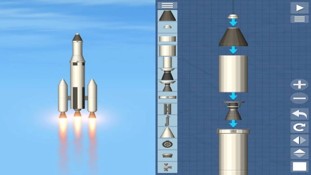 تحميل لعبة Space Flight Simulator مهكرة للاندرويد آخر اصدار