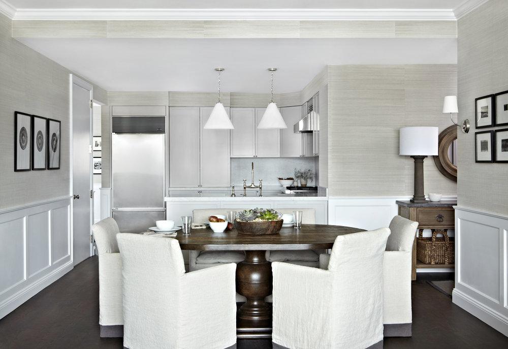 diseño de espacio abierto salón cocina