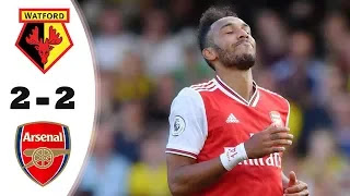 Watford vs Arsenal 2-2 All Goals And Match Highlights [MP4 & HD VIDEO]   This is the soccer highlights of the Watford vs Arsenal Premier League match for 15/09/2019