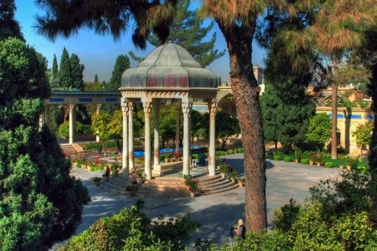 Makam Hafez, Shiraz