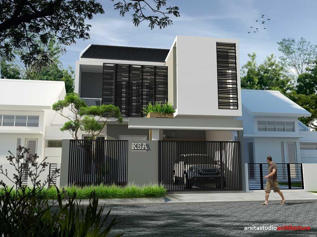 rumah minimalis 2 lantai modern Unik