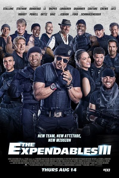 Download The Expendables 3 (2014) EXTENDED CUT Dual Audio [Hindi+English] 720p + 1080p Bluray ESubs