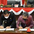 Kapolda Kepri Hadiri Rapat Paripurna Ke 17 Masa Sidang Kedua Tahun Sidang 2021 Dengan Agenda Penandatanganan Nota Kesepakatan Rancangan Awal RPJMD Provinsi Kep Riau Tahun 2021- 2026 Oleh Gubernur Kep Riau Dan DPRD Provonsi Kep Riau