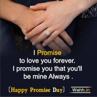 Promise Day Messages for Girlfriend In Hindi