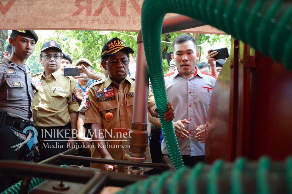 Di HUT Tagana Indonesia, Muncul Group Pamerkan Motor Viar Pemadam Kebakaran