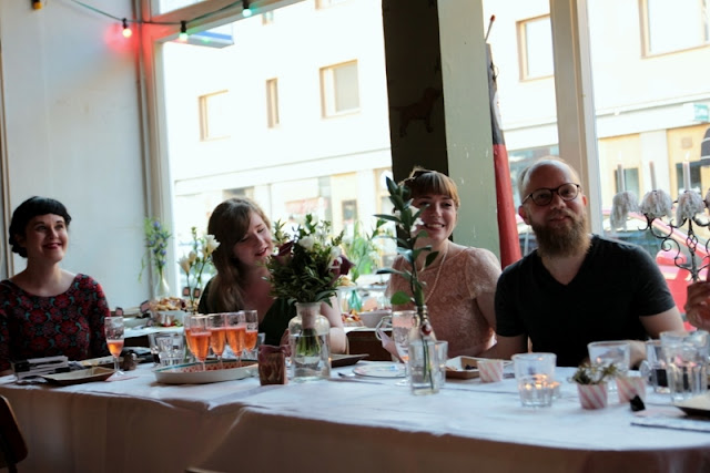 Paperiaarre wedding - photo by Kirsi Salo