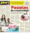 Pasteles de creatividad