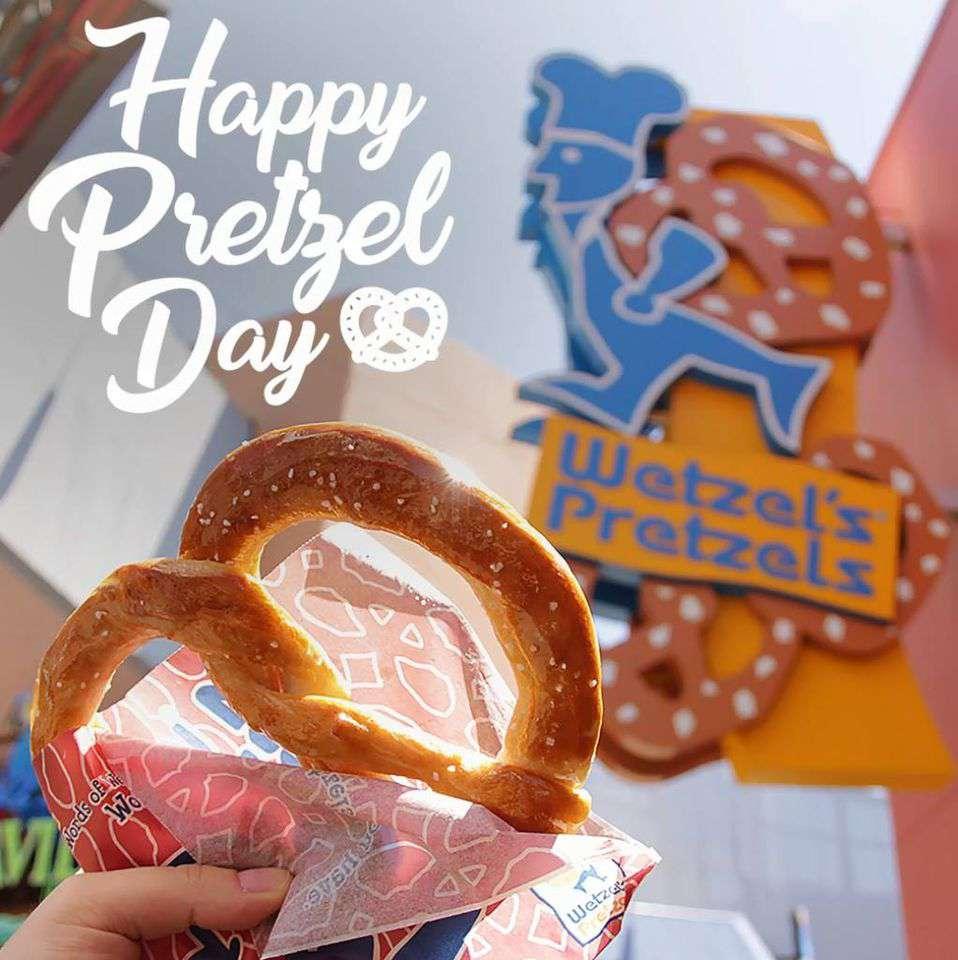 National Pretzel Day Wishes Beautiful Image