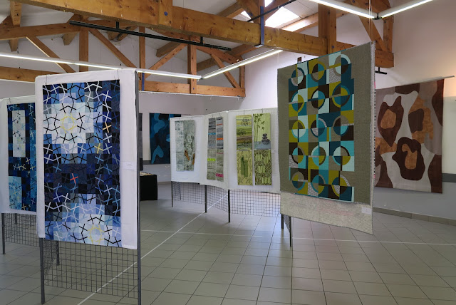 ART-TEX exhibition at Aigu'illes en Luberon festival 2019 - overview