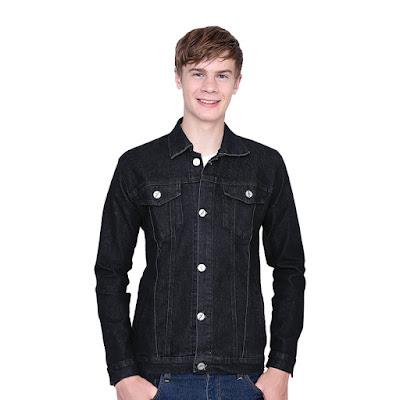 Jaket Jeans Pria Catenzo BE 065