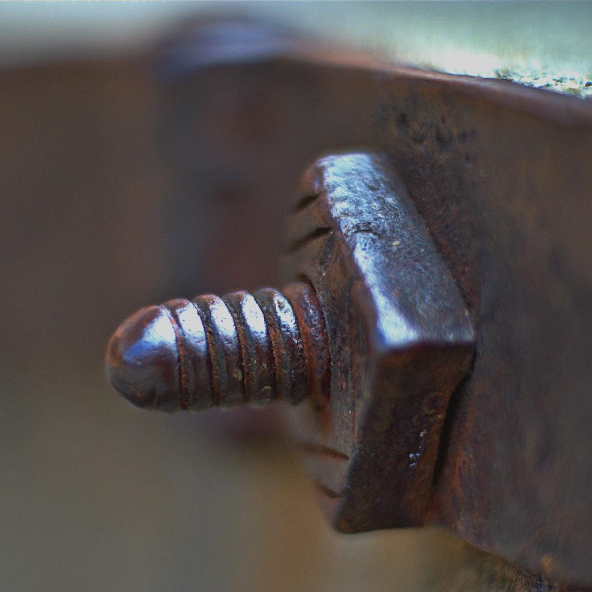 Rostige Schraube