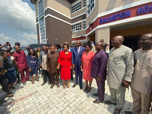 David Ibiyeomie Builds 100-Room Female Hostel Worth ₦300,000 Million For Ignatius Ajuru University