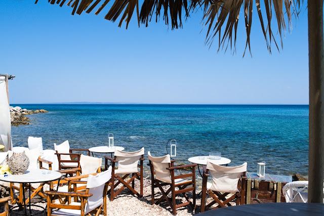 romantyczne miejsce nad samym morzem