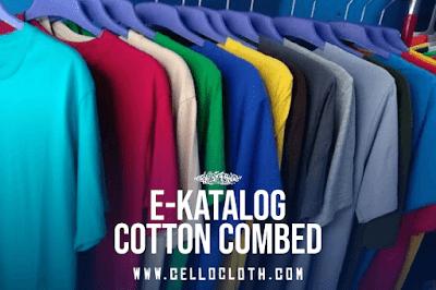 "Pilihan ""E-Katalog"" Warna Kain Cotton Combed Premium Quality"