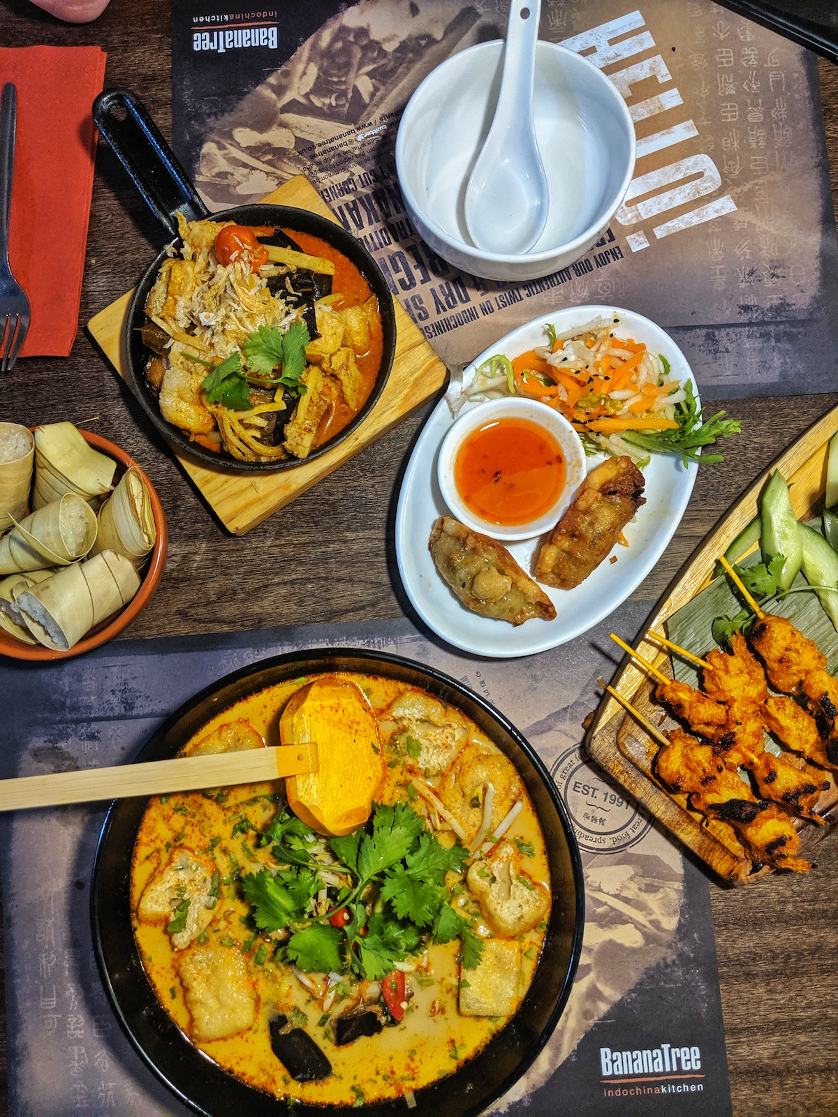 Banana Tree Vegan Menu Review