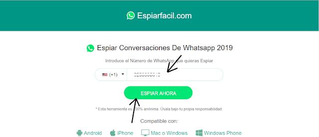 Números de WhatsApp hackeados recientemente