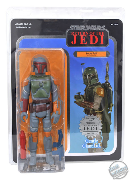SDCC 2021 Gentle Giant Exclusive Star Wars The Return of the Jedi 40th Anniversary Boba Fett Jumbo Action Figure