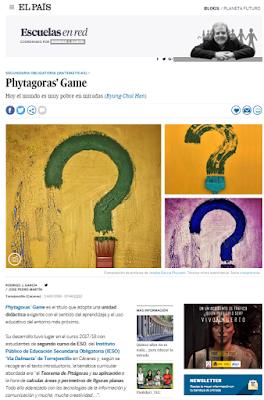 Proyecto Phtagoras game. Jose Pedro Martín Matemáticas