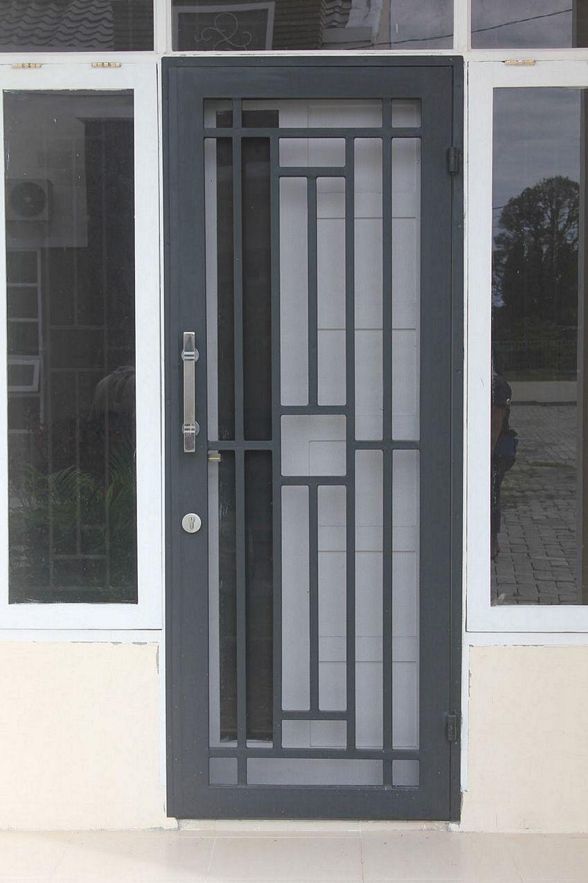 Bentuk Pintu Besi Minimalis Yang Terbaru