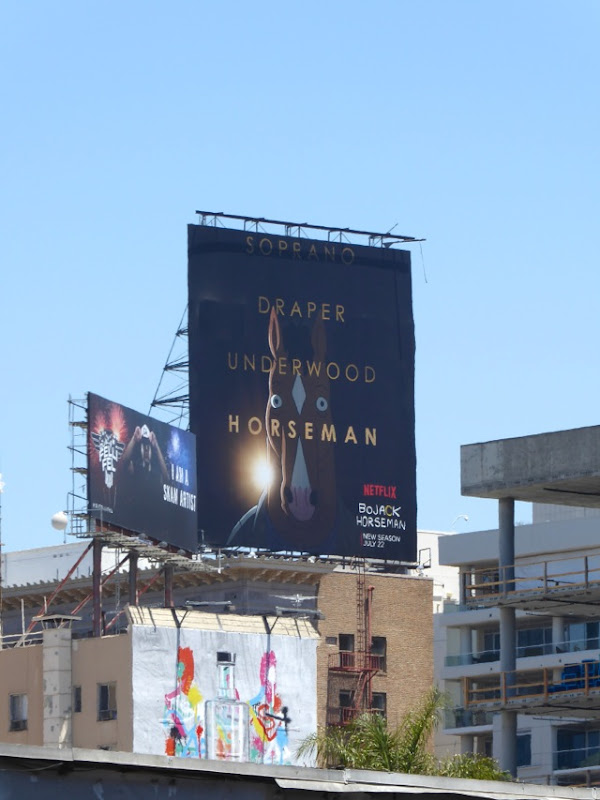 BoJack Horseman season 3 billboard