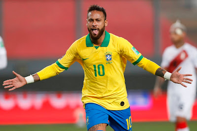 البرازيل يحقق الفوز الثانى فى التصفيات على البيرو ويتصدر المجموعه