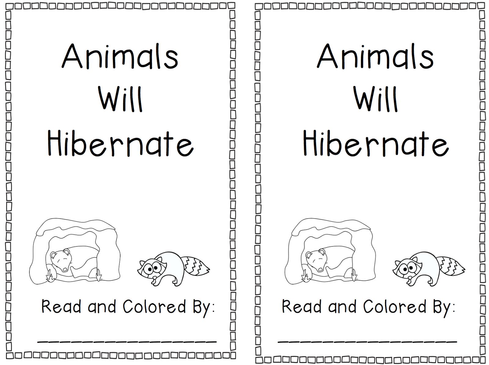 Worksheets Hibernation Worksheets hibernation coloring pages animals that hibernate preschool worksheets
