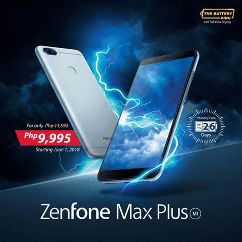 Sale Alert: ASUS ZenFone Max Plus M1 is down to PHP 9,995