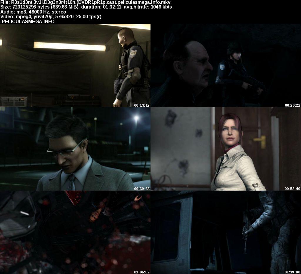 Descargar Resident Evil: Degeneración Castellano por MEGA.