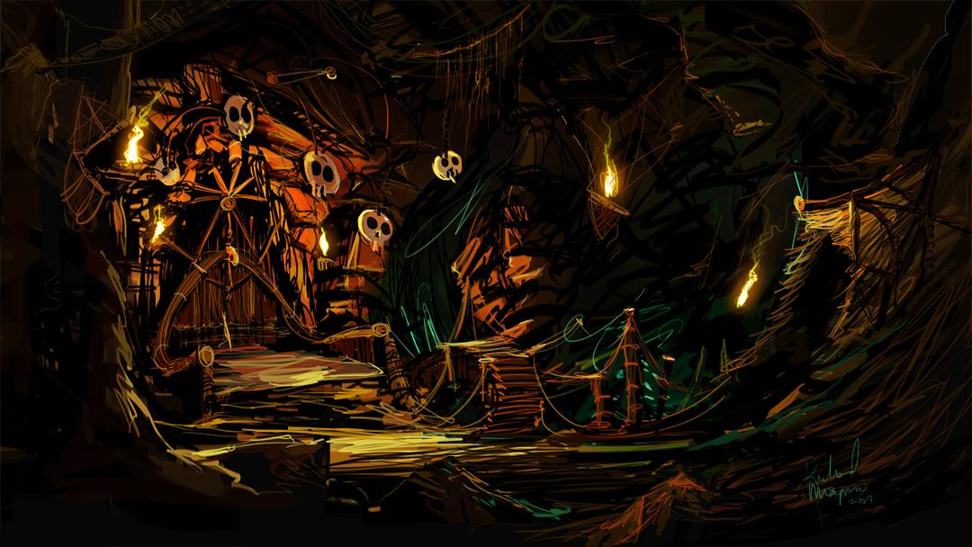 Evil Cave: Evil Dead (2013) – Billy Knight