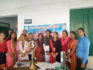 स्वैच्छिक रक्तदान शिविर के साथ हुआ लाडली उत्सव का शुभारंभ