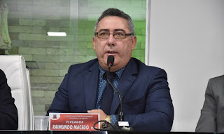 Vereador Raimundo Macedo lamenta incêndio na SP variedades da cidade de Guarabira