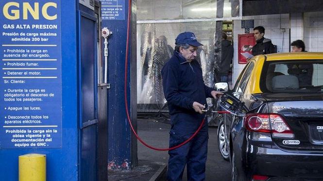 El precio del GNC sube un 30%