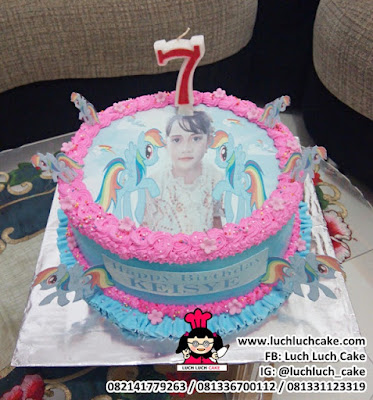 Edible Image Cake My Little Pony