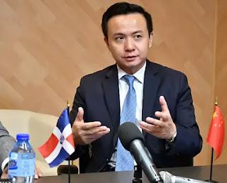 Embajador chino en República Dominicana etira este viernes su apoyo al pueblo dominicano por la pandemia del coronavirus