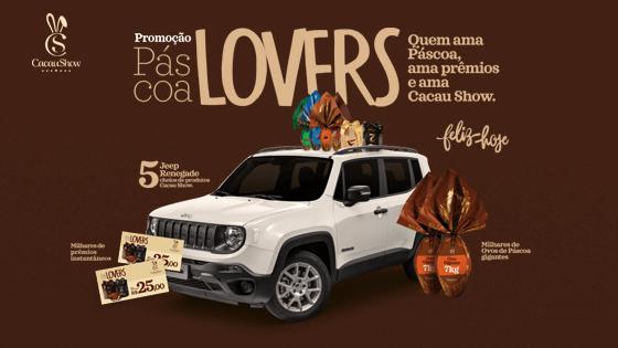 Promoção Páscoa Lovers Cacau Show