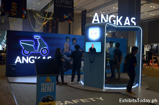 Angkas Exhibit Stand