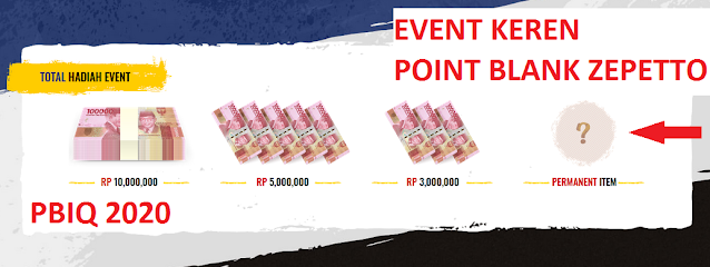 EVENT PBIQ 2020 HADIAH ITEM PERMANENT