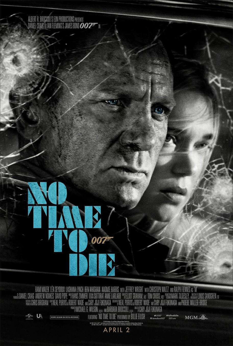 NO TIME TO DIE POSTER (#4 OF 12) - OKAY BHARGAV