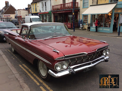 A Cool Car on High Street Whitstable