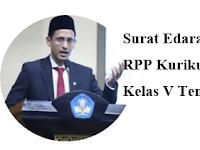 RPP Hanya 1 Lembar K2013 Kelas 5 Tema 6 Revisi