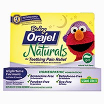 Butterfly Acres Baby Orajel Naturals Nighttime Teething