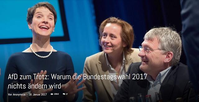 Warum die Bundestagswahl 2017 nichts ändern wird