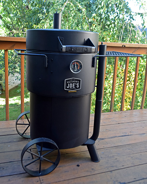 Review of Oklahoma Joe's Bronco Drum Smoker