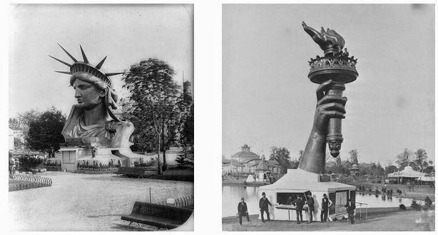 original liberty statue in paris