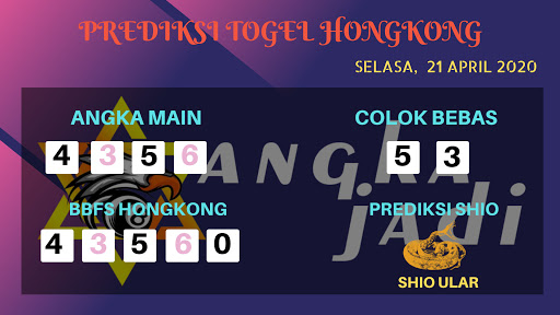 Prediksi HK 21 April 2020 - Prediksi Angka HK