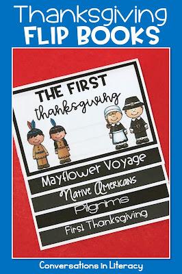 Thankgsgiving writing flip book