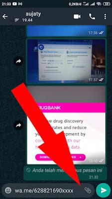Cara Mengirim Pesan Whatsapp Tanpa Perlu Menyimpan Nomor Penerima