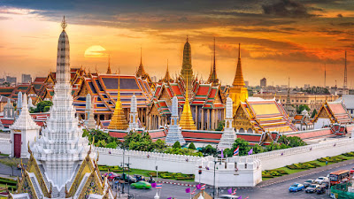 Grand Palace dan Wat Po